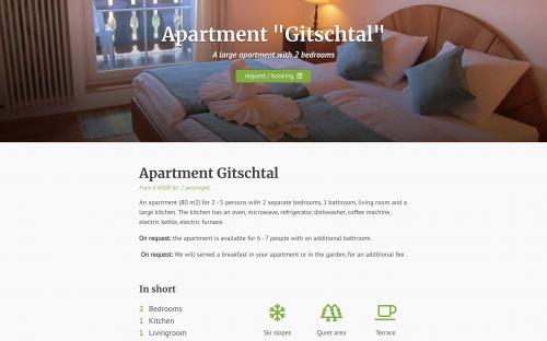 Haus Holunder - Apartment detail