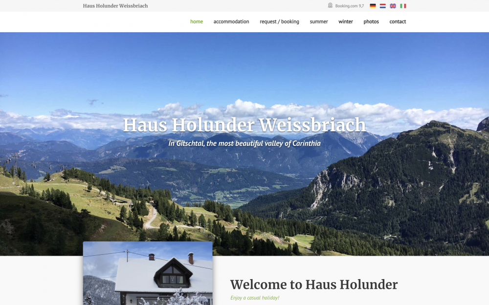 Haus Holunder - Homepage