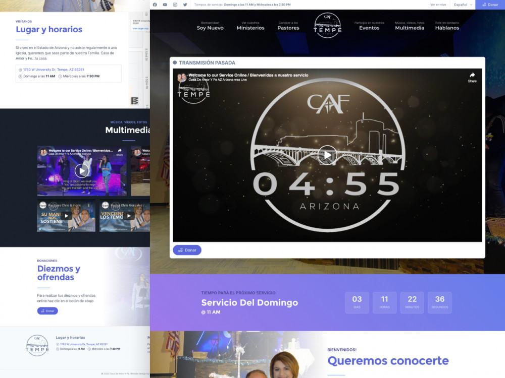 CAFAZ.ORG Homepage